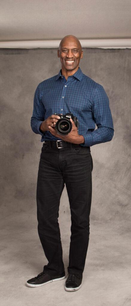 Naim Hasan, owner of Naim Hasan Photography. Photo by Jaime Valdez